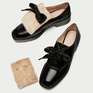 ZARA derby shoes
